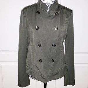 Express Women's Army Green Jacket SIZE LARGE
